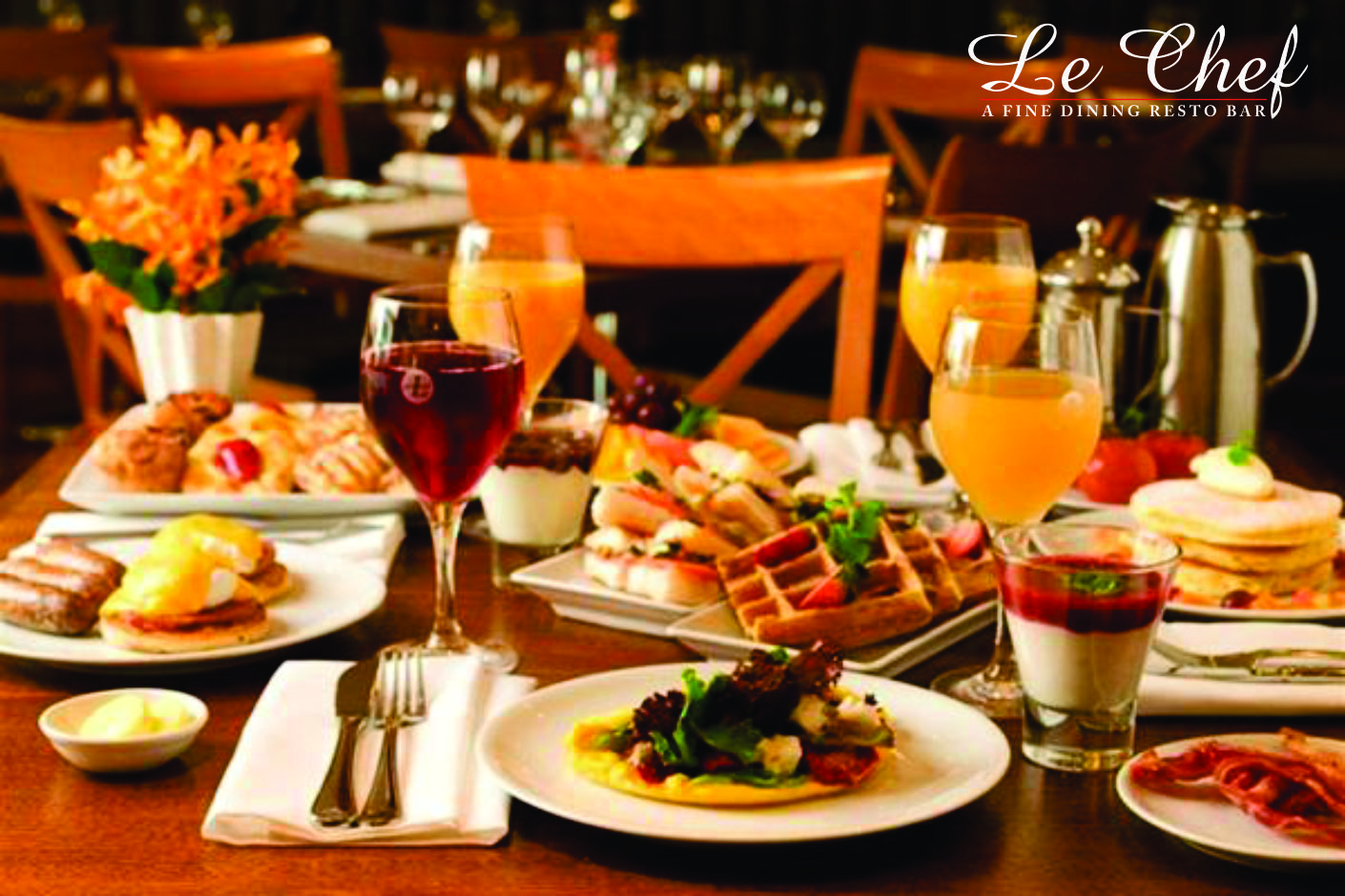 Explore the rich variety of food and enjoy fine dining