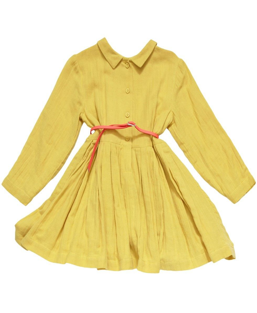 Yellow dress kids  Girlus Yellow Tyne Dress  Caramel Baby u Child  Maybe Baby