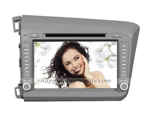 Android Car DVD Player for Honda Civic 2012 Navigation Wifi 3G