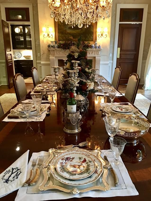 The Butler S Pantry Dinner Table Setting Table Setting Decor Entertaining Table Settings
