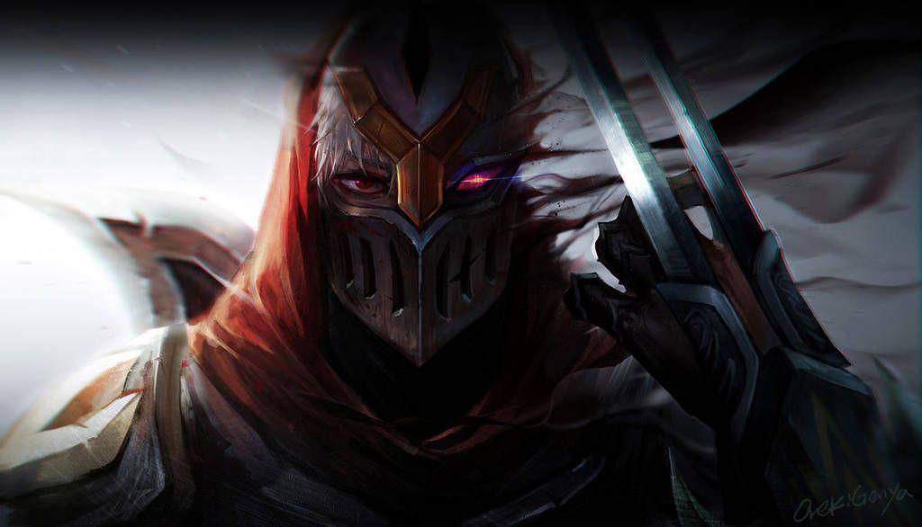 Zed Fanart By Orekigenya League Of Legends Poster League Of Legends Lol League Of Legends