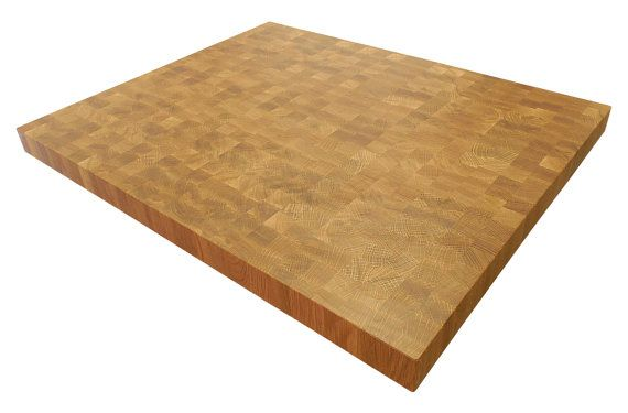 End Grain White Oak Butcher Block Countertop Island Chopping Block Custom Sizes Available With Images