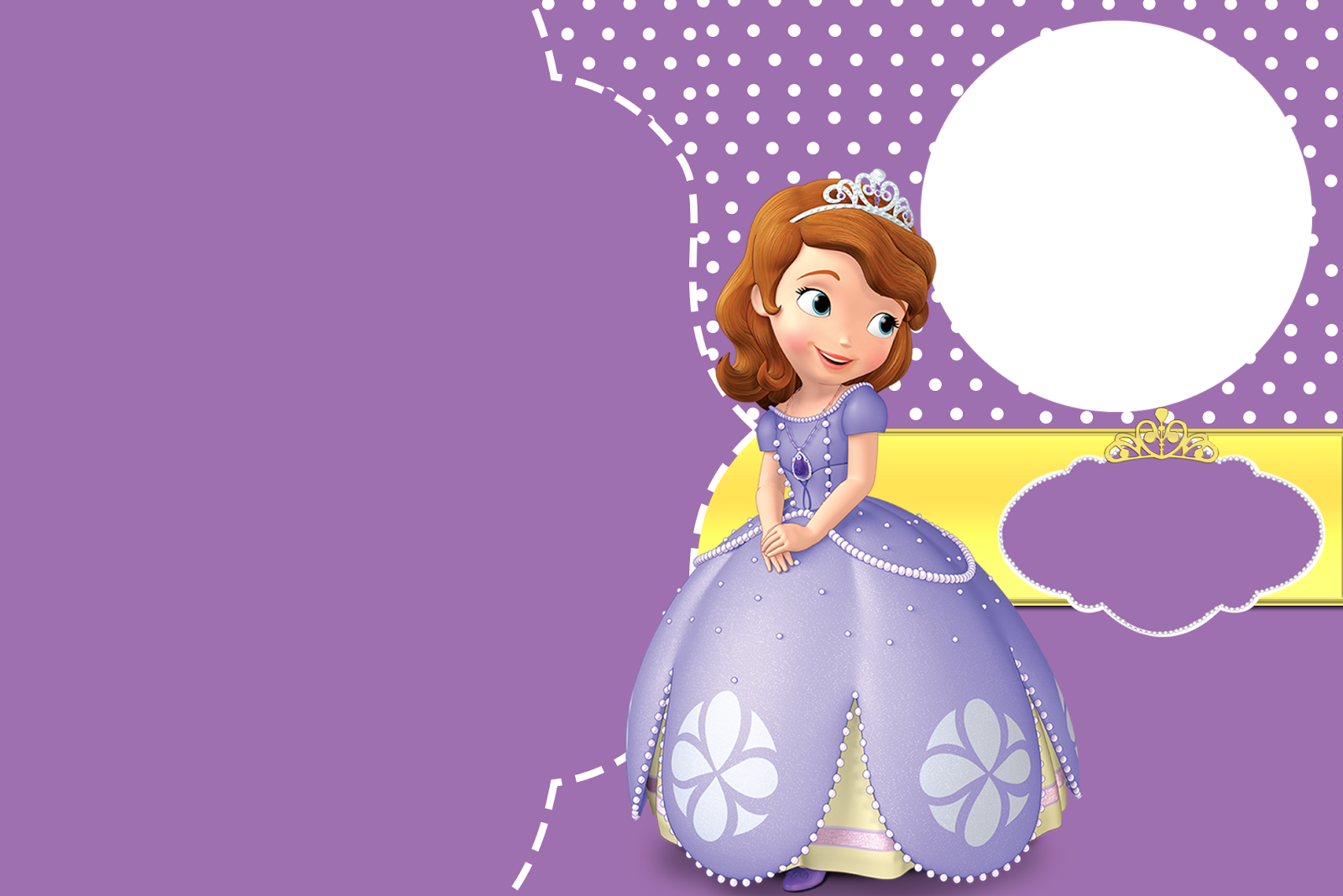Oh My Fiesta! in english: Sofia the First Free Printable