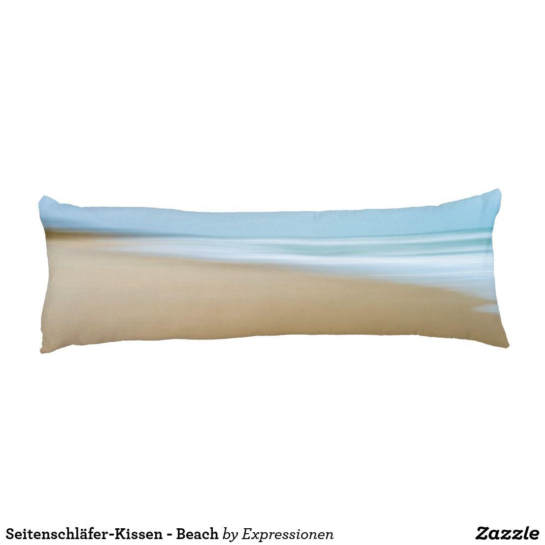 Seitenschlafer Kissen Beach Seitenschlaferkissen Zazzle De