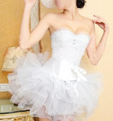 corset white tutu skirt dress with images  bridal
