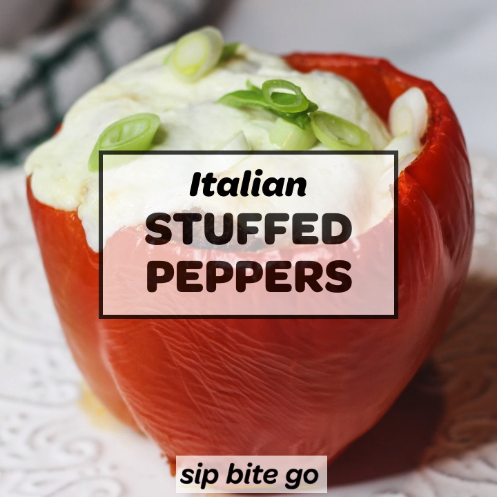 Easy Italian Stuffed Peppers Easy Italian Stuffed Peppers with ground beef and mozzarella cheese. They're an easy Italian main dish recipe for busy weeknights and Sunday dinners. ...