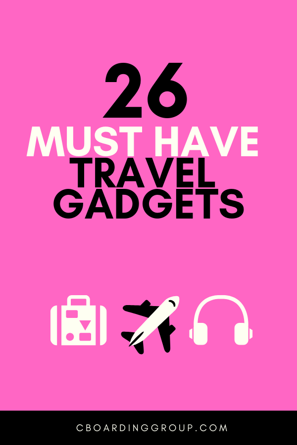 Photo of 26 Must Have Travel Gadgets & Gear