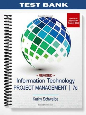 Test bank for information technology project management 7th edition banks fandeluxe