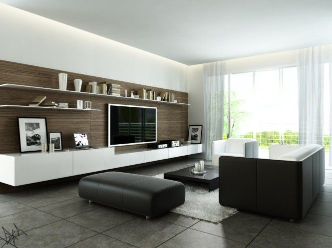 Simple Living Room Interior
