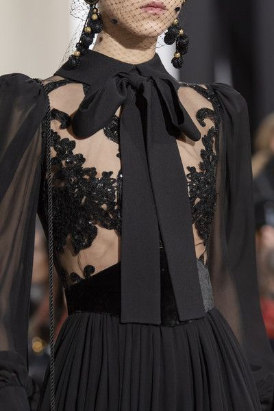 Elie Saab at Paris Fashion Week Fall 2020