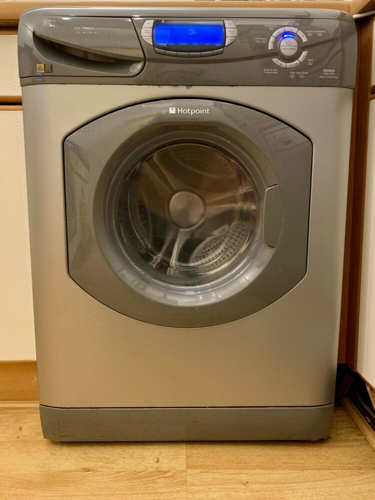fb9447b91a3a Hotpoint Ultima Super Silent, 5+5kg Washer & Dryer, WD860, 1600 Spin,  Silver | Home, Furniture & DIY, Appliances, Washing Machines & Dryers |  eBay!