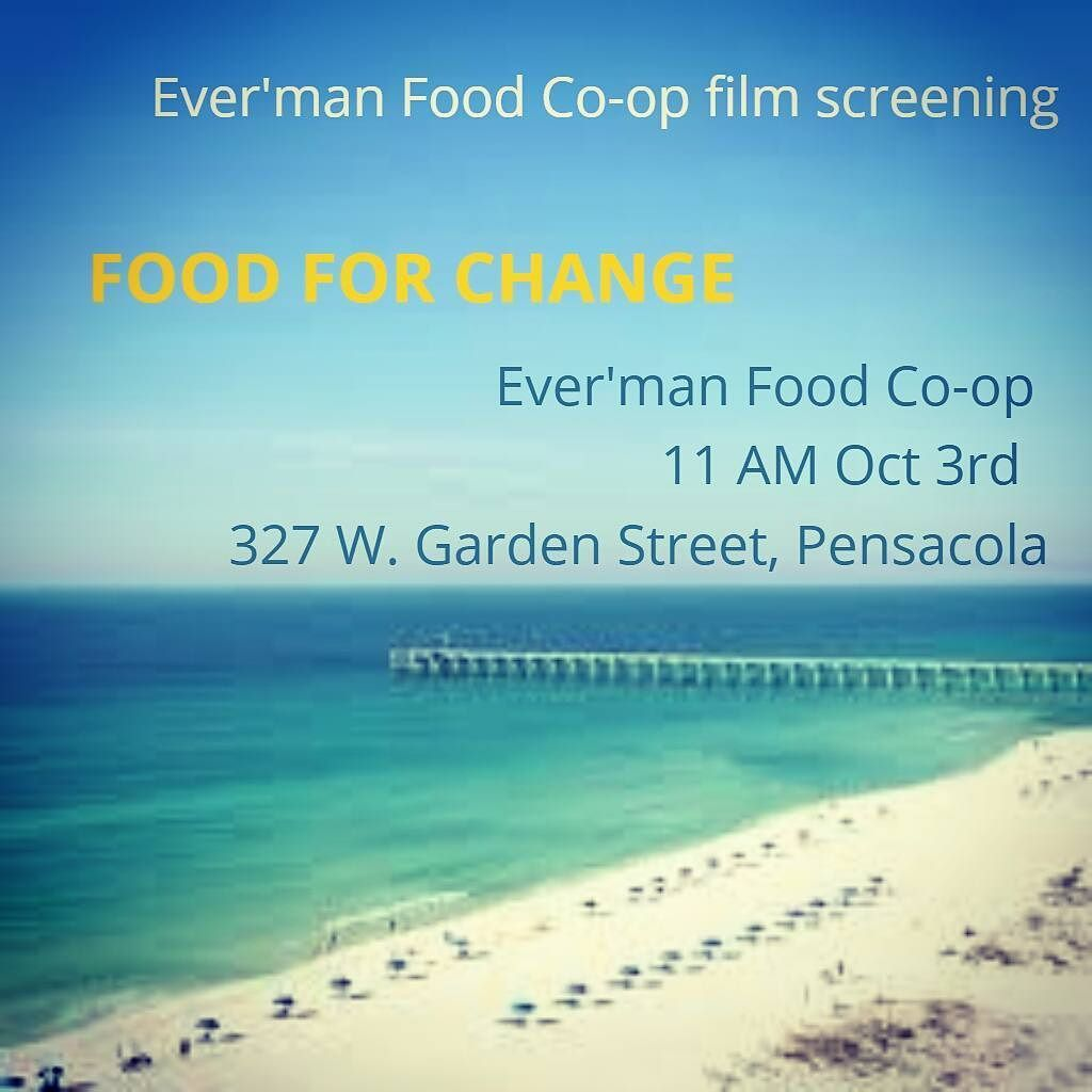 Ever'man Cooperative will screen Food for Change this morning (Oct. 3rd at 11 a.m.). @evermancoop  Happy #coopmonth !