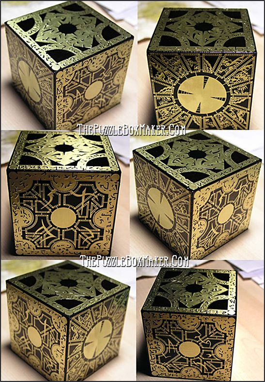 All Black Hellraiser Puzzle Box