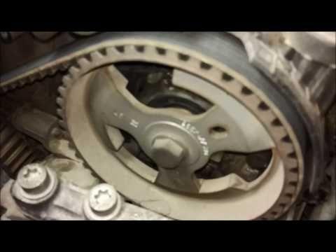 (91) Замена ремня ГРМ Peugeot 207 1.4HDI + Подшипник ...