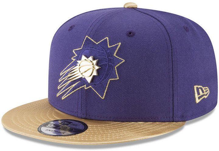 innovative design 0cee4 f0c0e New Era Phoenix Suns Triple Gold 9FIFTY Snapback Cap