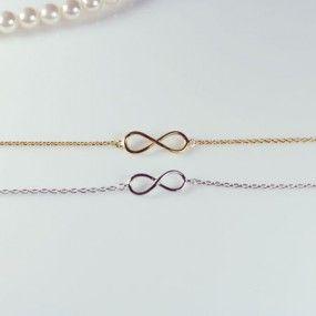 Infinity bracelet. Love this