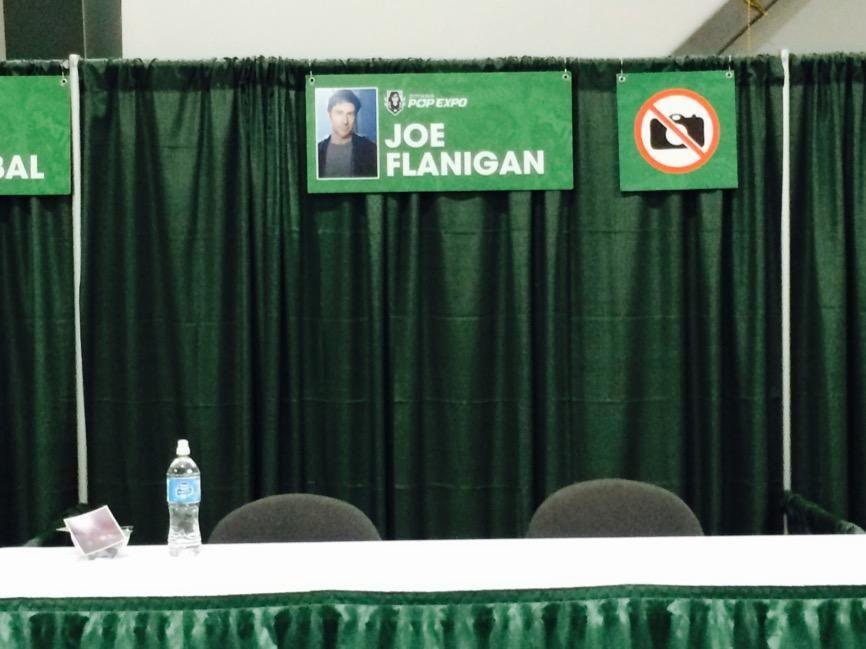 Joe Flanigan  Pop Expo (Ottawa, 22 -23 11 2014)    Joe Flanigan