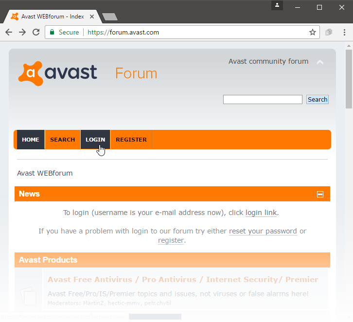 www.avast.com login