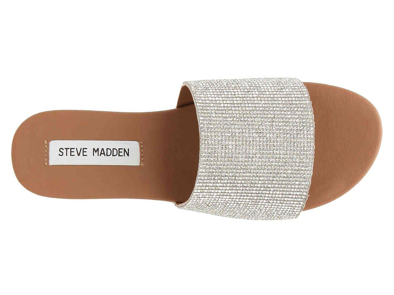 Rhinestone sandals, Sandals, Steve madden