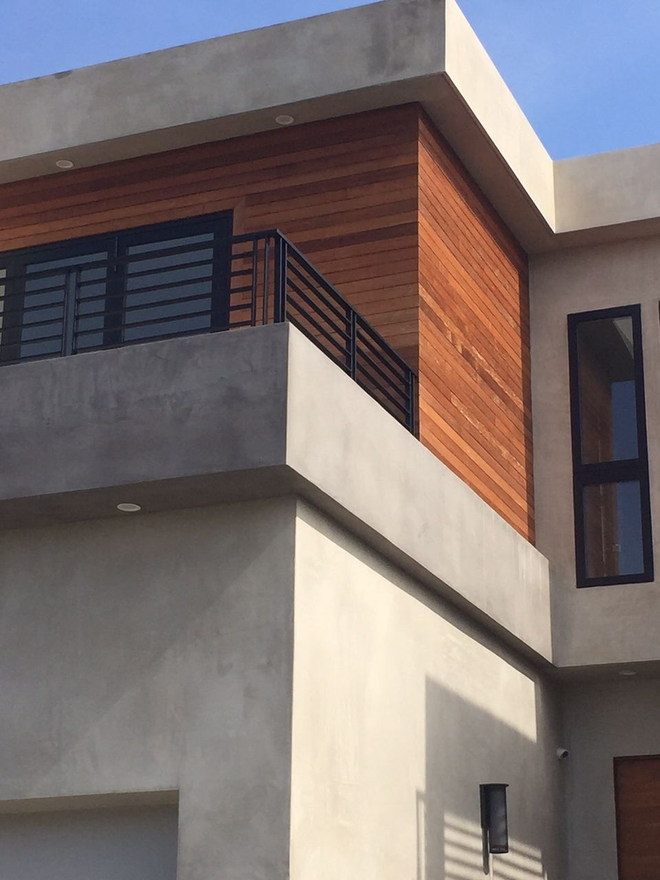 Smooth Stucco Light Grey Wood Trim Stone Exterior Houses Stucco Finishes Stucco Homes