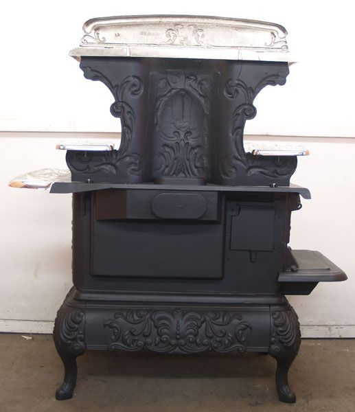 Oven Oakland Queen Wood And Coal Antique Cook Stove Wkr1558 Blk
