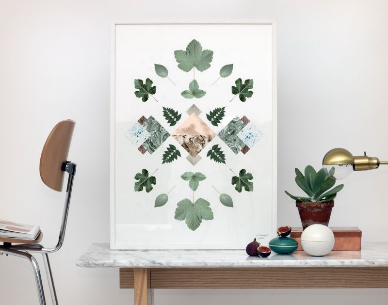 Kristina Krogh Art Print  - Flora no. 3