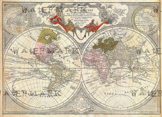Old world map 1775 download scan of an old original map of the old world map 1775 download scan of an old by memoriespictures gumiabroncs Gallery