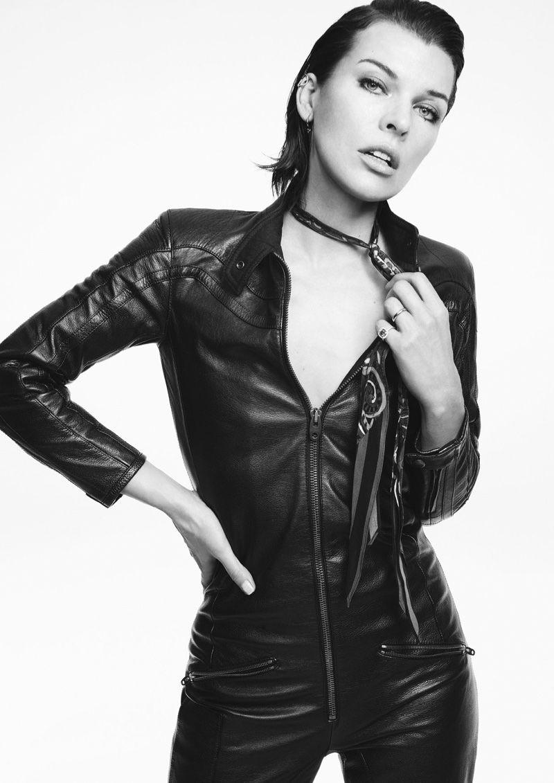 Milla Jovovich for Marella FallWinter 2012-2013 Campaign