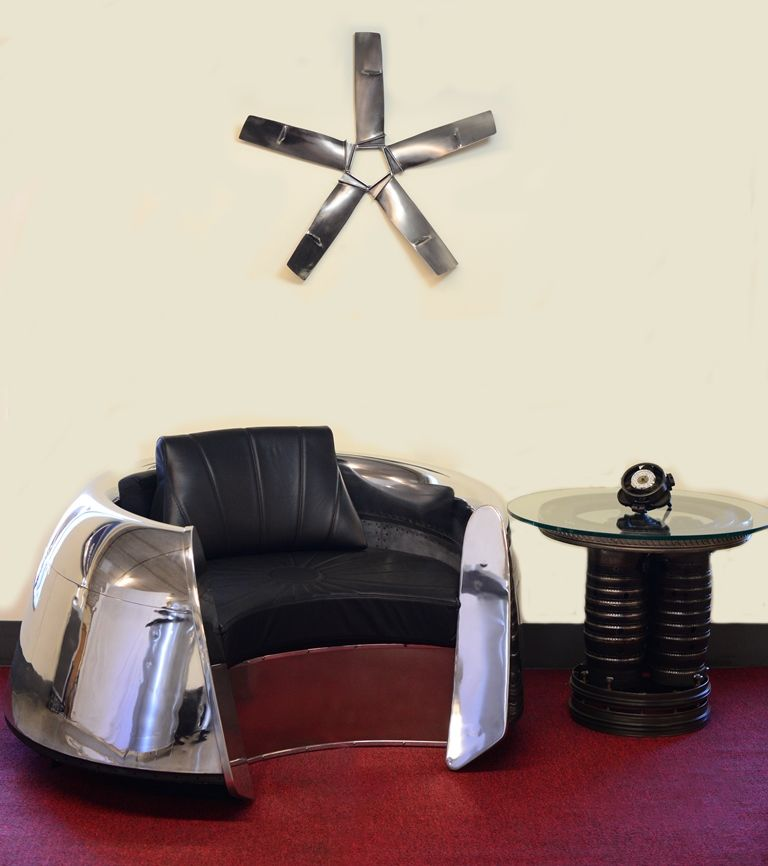 DC9 Cowling Chair and Burner Can Table