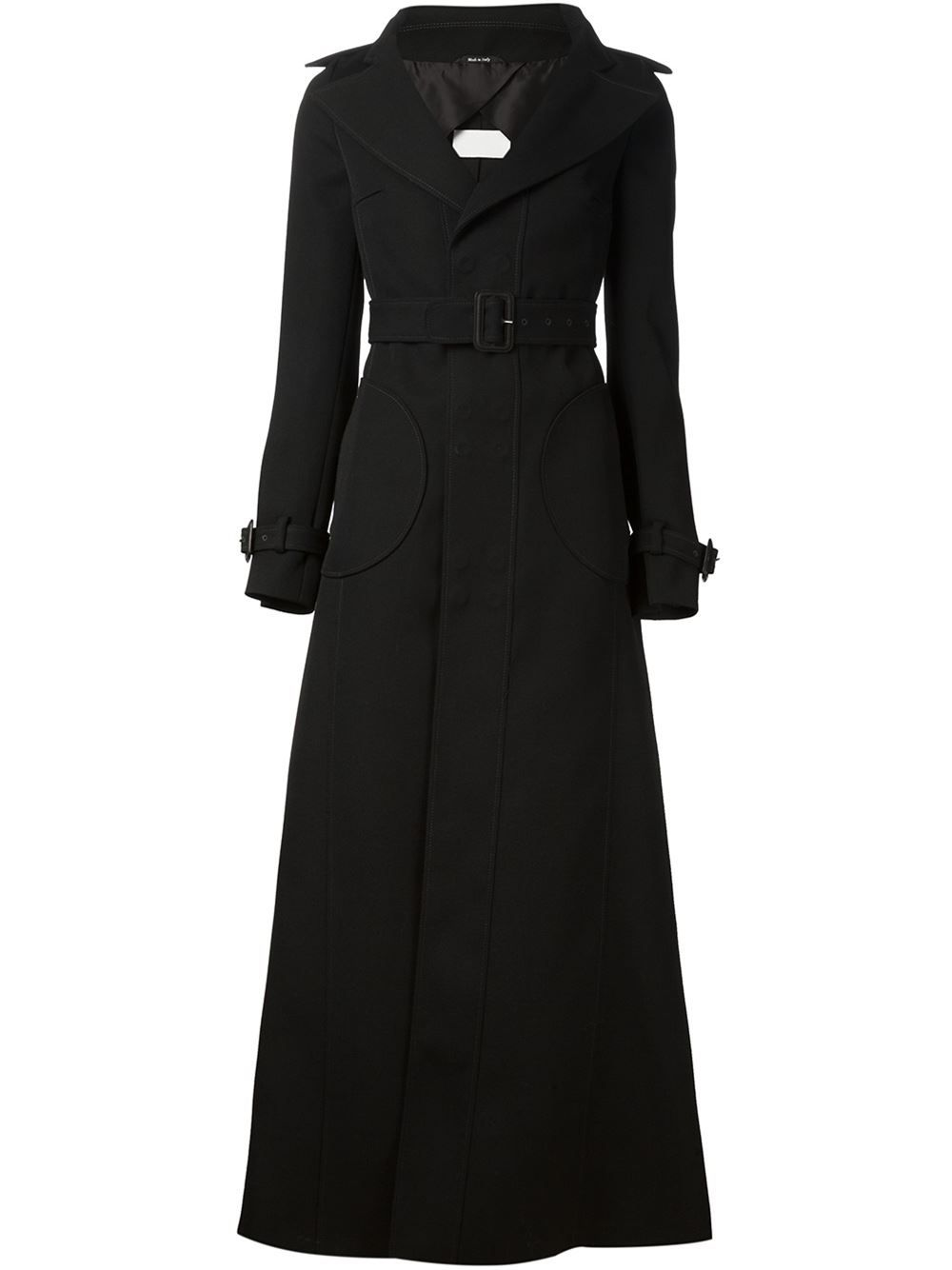 30a343b548168 Maison Margiela flared trench coat