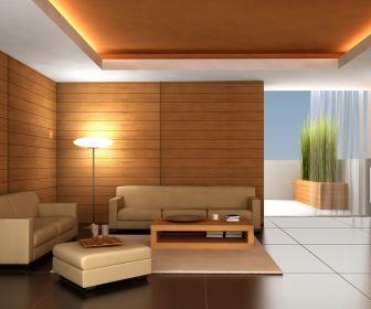 modern natural minimalistic zen room