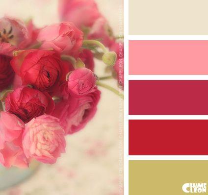 Color palette malerei farben wandfarbe und farbpalette - Farbkombinationen wandfarbe ...