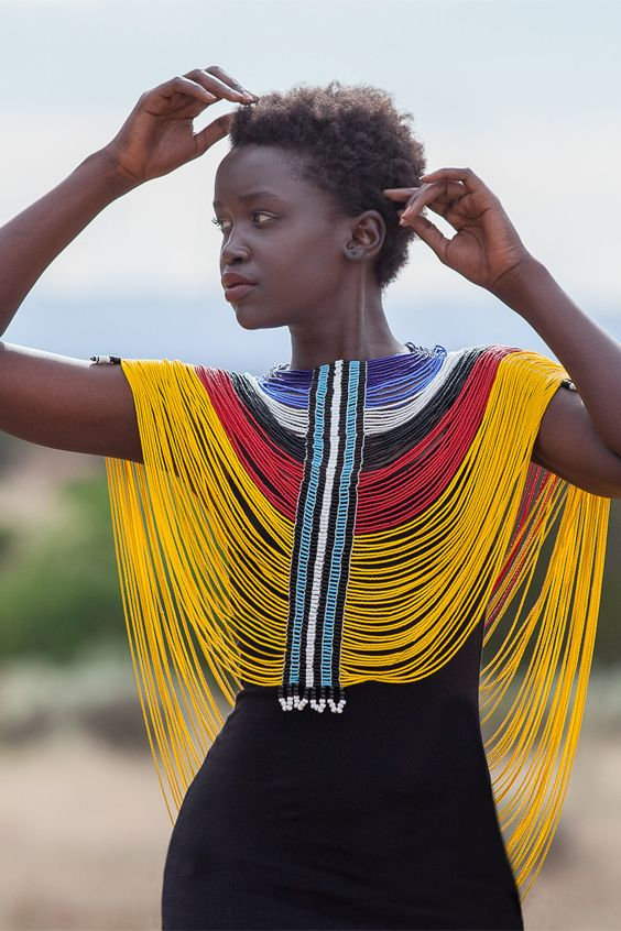 ibu Movement | Dinka Beaded Corset from South Sudan #africanfashion