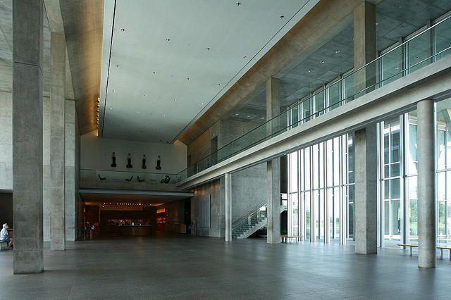 Tadao Ando Modern Art Museum Of Fort Worth Completed 2002 Tadao Ando Museum Of Modern Art Architecture