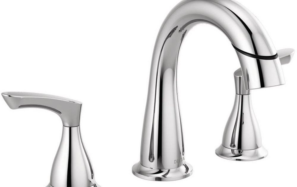 bathroom faucet pull out sprayer delta