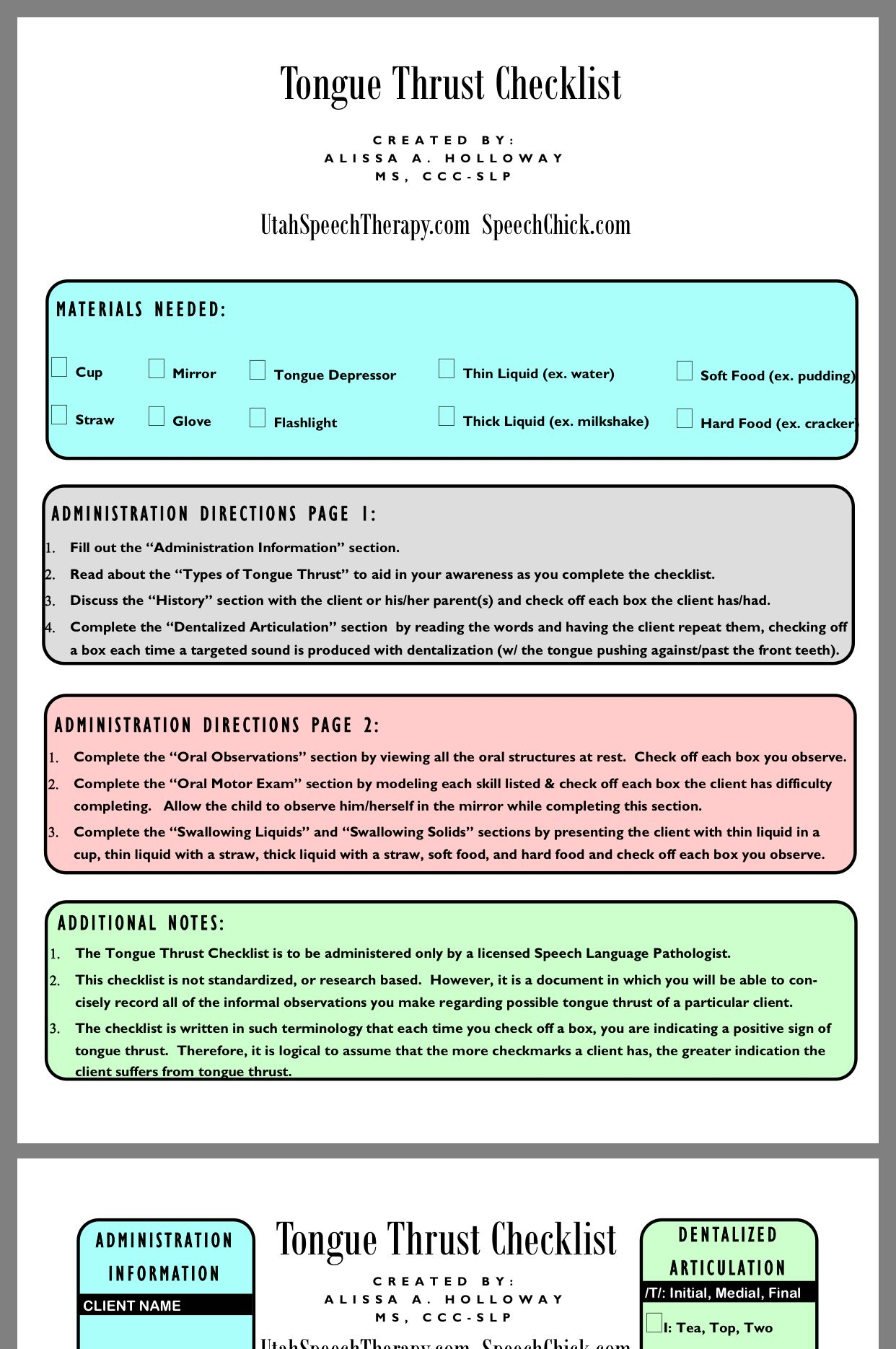 Pin By Kaitlyn King On Speech Sound Disorders