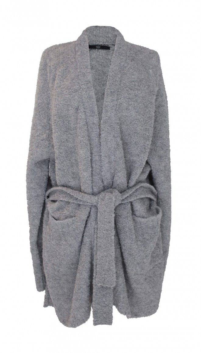 Layering is the name of the game. Tibi's Cozy Alpaca Oversized Cardigan is a subtle way to take on the season's blanket trend to keep you warm and stylish.