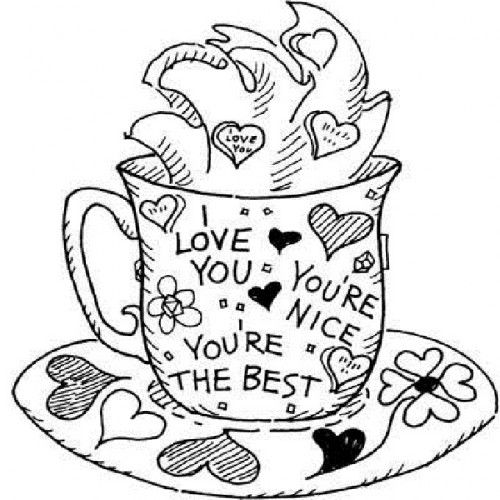 I Love You Coloring Pages Love