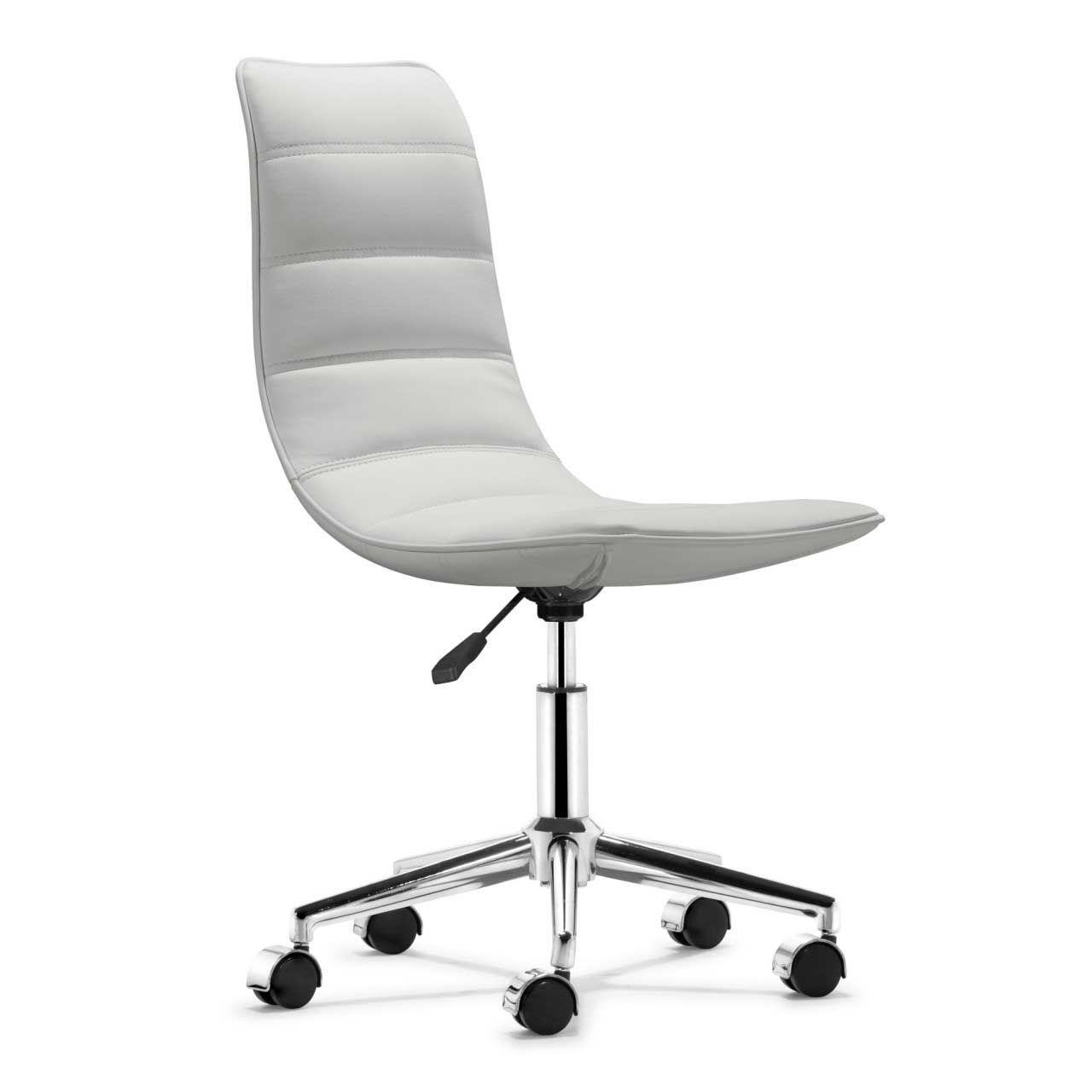 White Rolling Chair Nice Desk Chair White On Interior Decor Home Ideas With