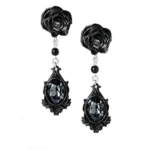 Alchemy Of England E291 Dark Desires Pair Of Earrings Gothic