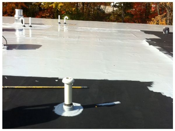 Flat Roof Repair Coatings Roof Coating Roof Repair Roof Coatings