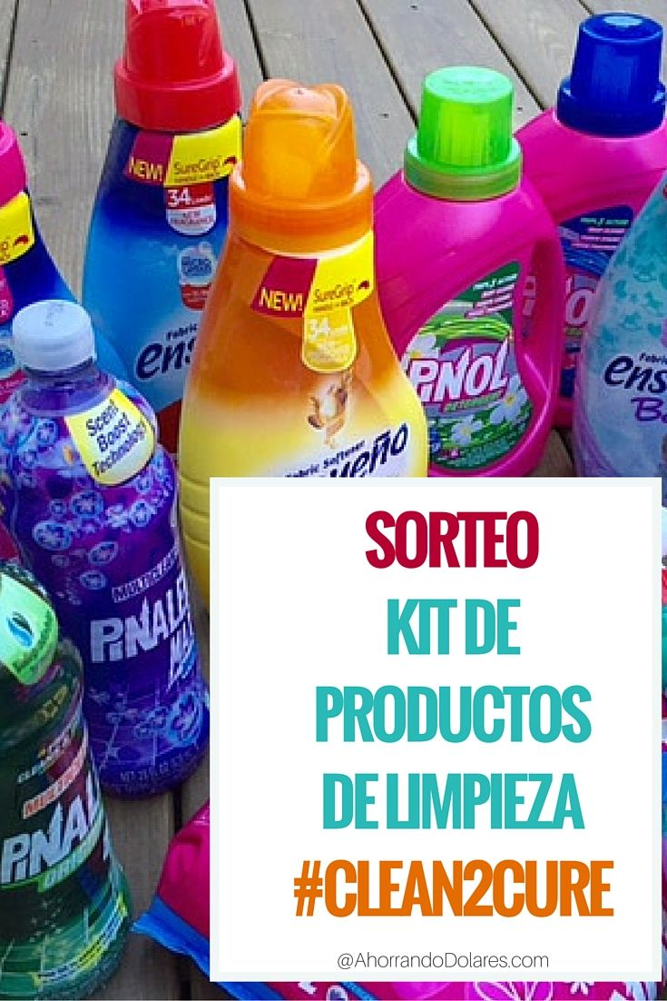 Click Aqui Para Ganar Este Kit De Productos De Limpieza Sp Como