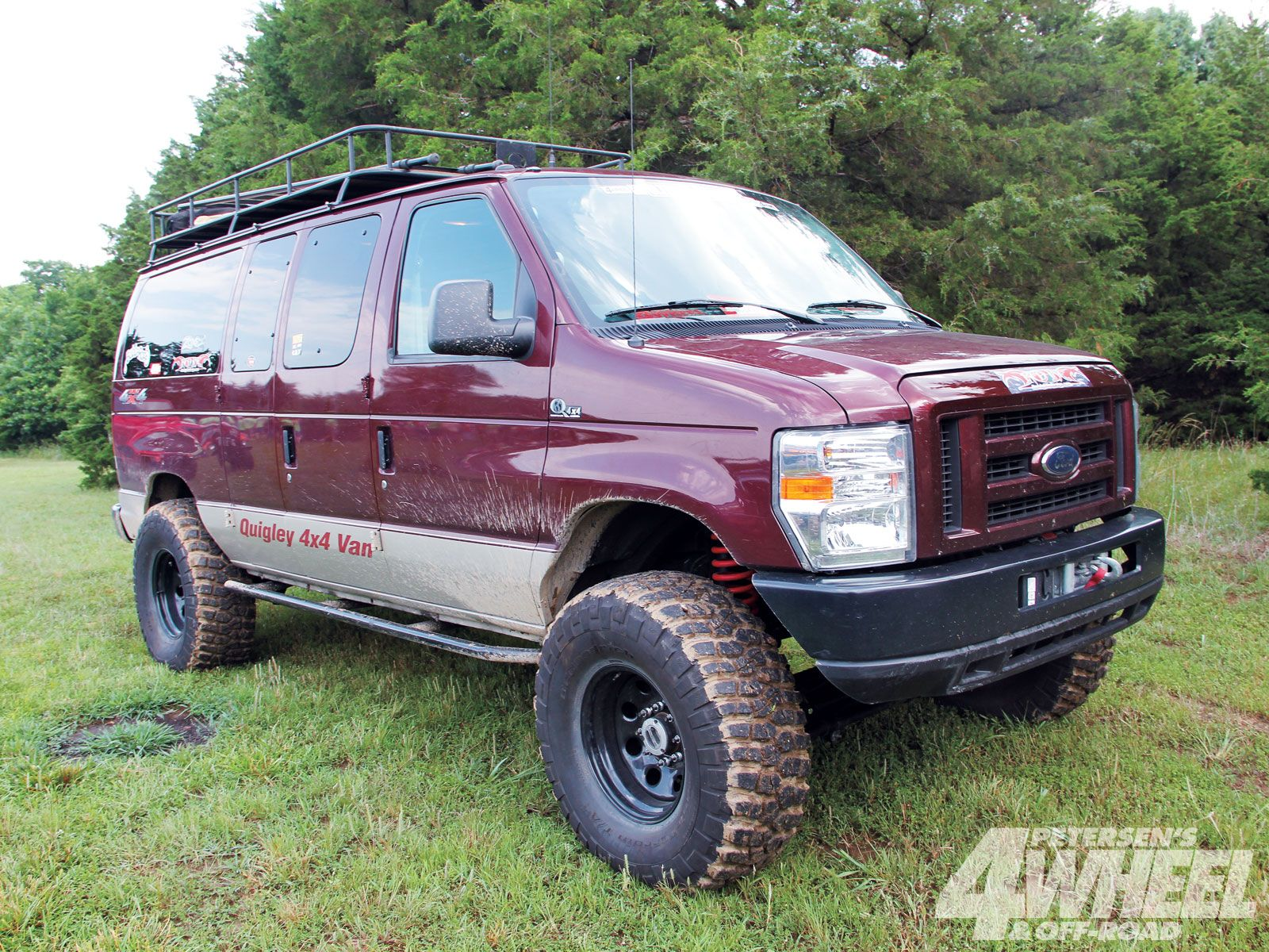 2009 ford e 350 quigley 4x4 conversion Ford
