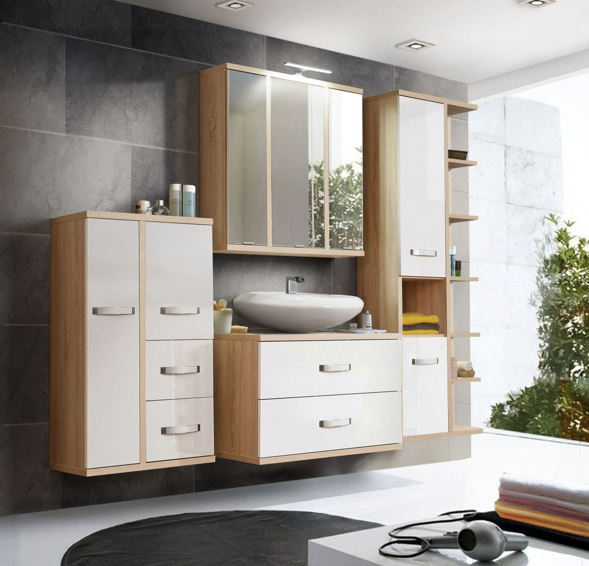 Badmoebel Set Holz. Awesome Related To Bathroom Storage Sets Lovely ...