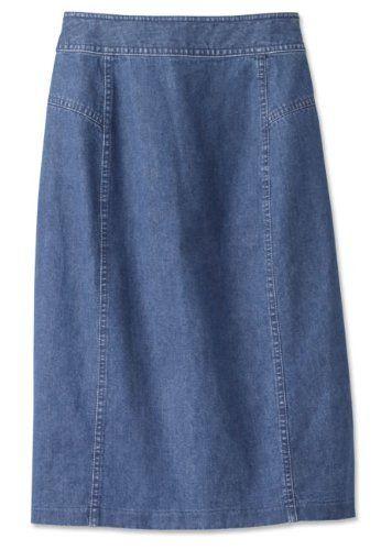 Vintage Denim Skirt / Vintage Denim Skirt, Dark Indigo, 18 Orvis,http://www.amazon.com/dp/B007VU3NRY/ref=cm_sw_r_pi_dp_7y8prb09XMJ4HYMF