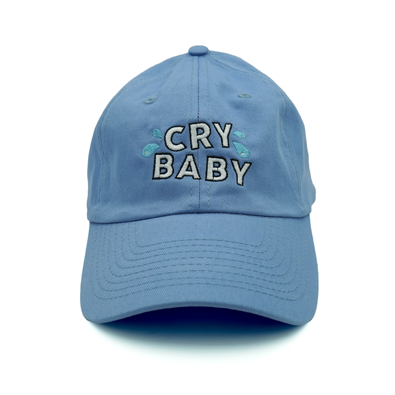 Cry Baby Dad Hat Blue Hats And Caps Chapeu