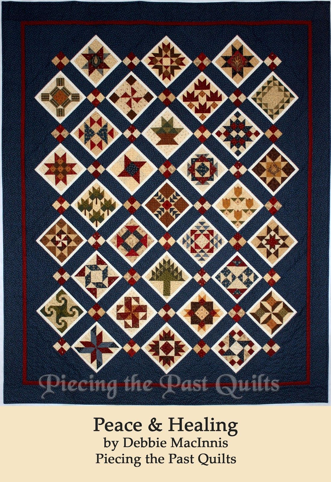 2015 Peace and Healing Civil War S&ler Quilt | Free Quilt BOM ... : civil war quilts for sale - Adamdwight.com