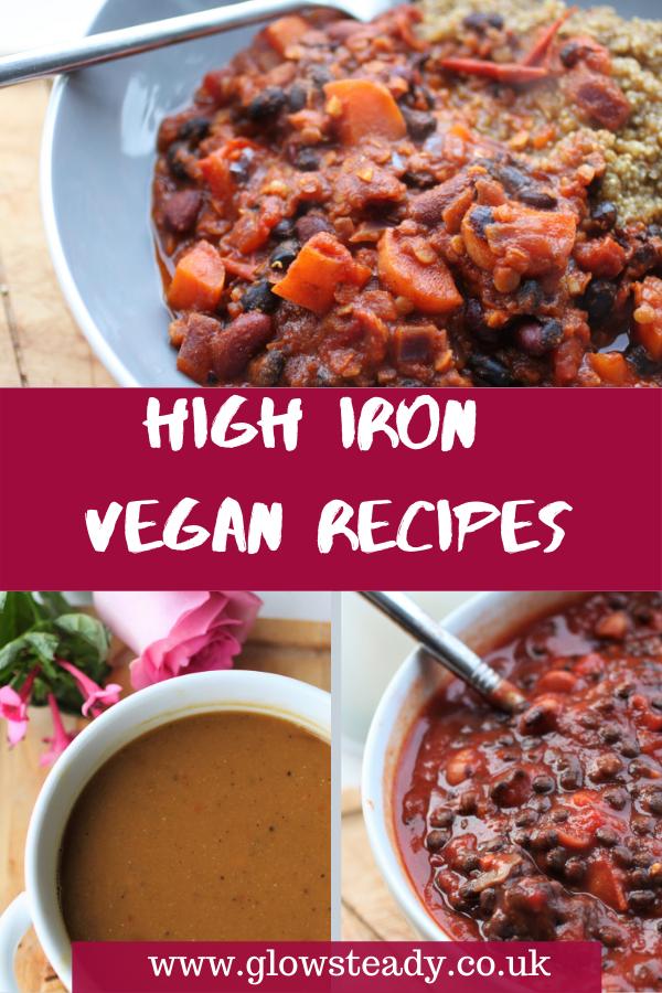 High Iron Vegan Recipes in 2020 High iron vegan, Vegan