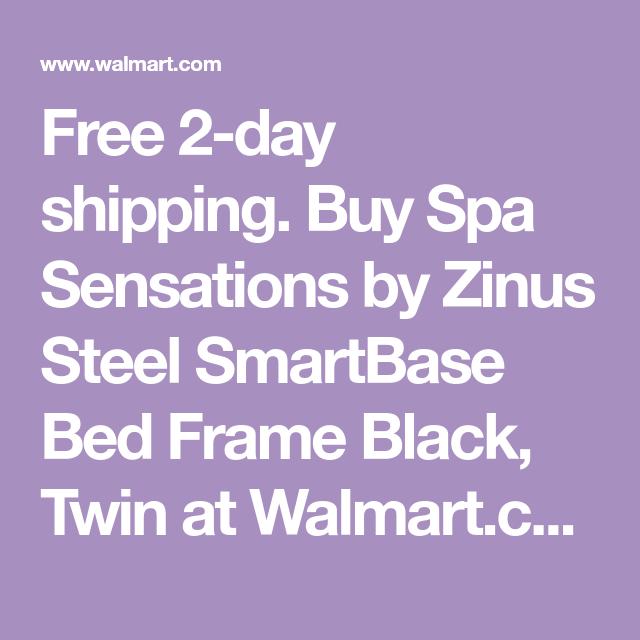 Zinus 14 Smartbase Zero Assembly Mattress Foundation Twin