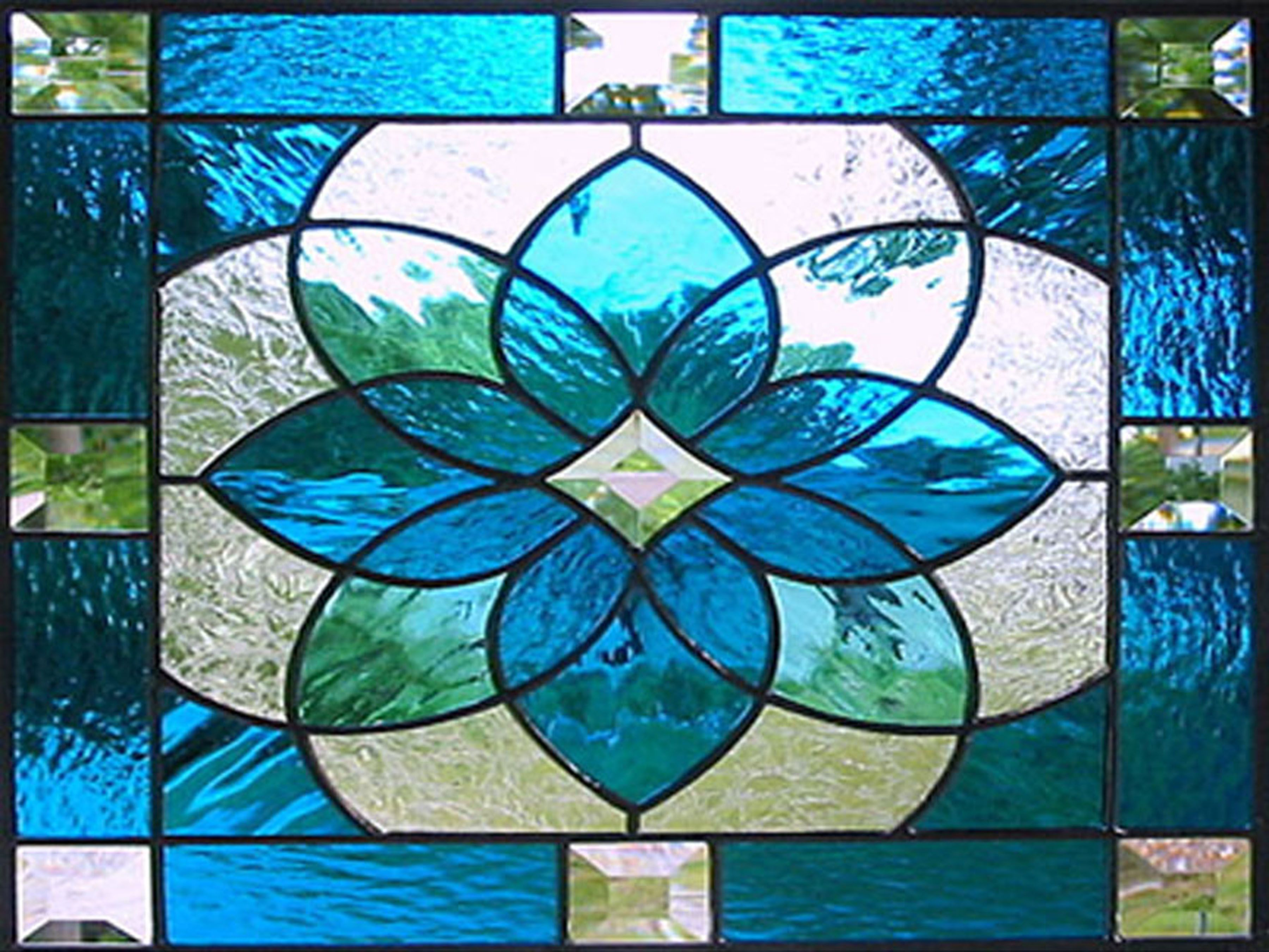 Stained glass designs art deco stained glass ideas for Art deco glass windows